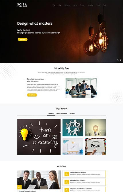 Creative Design Studio Demo