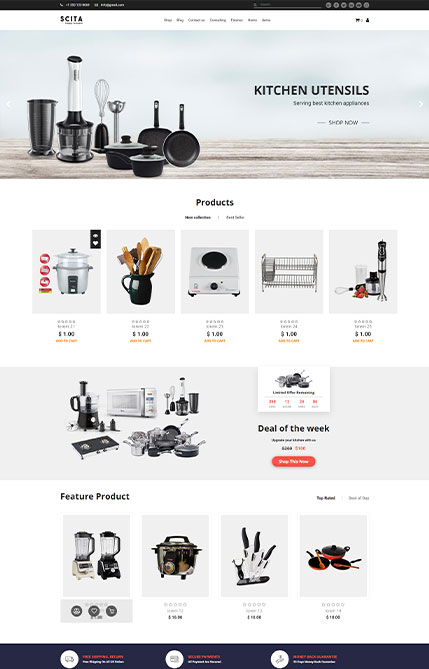 Ecommerce - Kitchen Demo