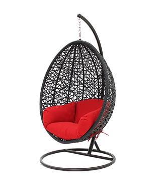 Black Swing Chair