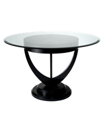Glass Designer Stool