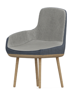 Tringle Shape Chair